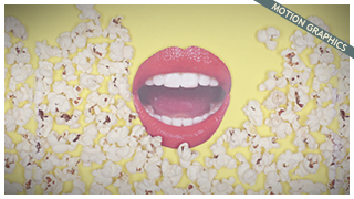 HOYTS - POPCORN STOP MOTION WALLPAPER